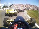 Nasty racecar crash in-car camera