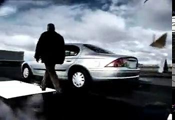 Slow-Motion car crash