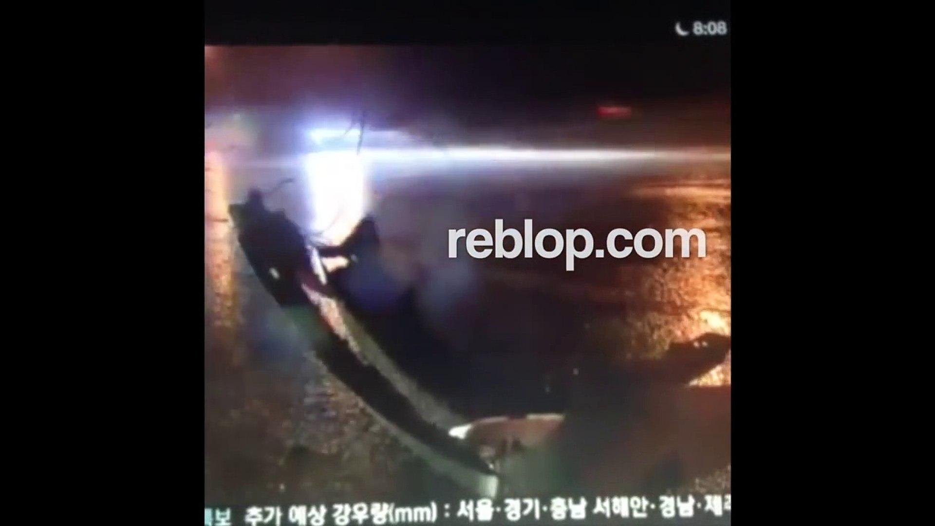 FOOTAGE: EunB & Rise Ladies Code Dies In Car Crash Accident | Dead Body  REBLOP com