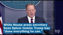Sean Spicer really wants you to know: This health care thing isn't Trump's fault
