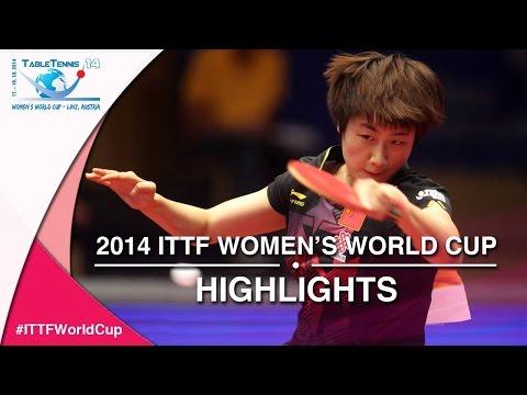 2014 ITTF Women's World Cup – Match Highlights: Ding Ning vs. Li Xiaoxia (Final)