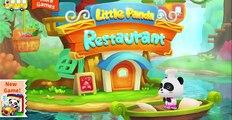 Little Panda Restaurant | Baby Panda Fun Cooking Game
