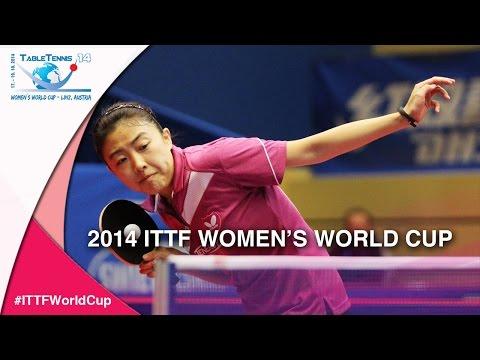 2014 Women's World Cup Highlights: HU Melek  –  SOLJA Petrissa  (Qual Groups)
