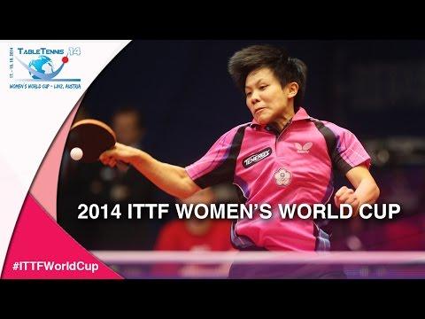 2014 Women's World Cup Highlights –  POTA Georgina   CHENG I Ching (Qual Groups)