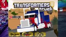 Transformer | Mesh Truck | Cutter Truck | Garbage Disposer Vehicle For Kids | Cartoons Vid