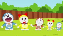 Doraemon SuperHeroes Finger Family - Doraemon Finger Family Song Nursery Rhymes Lyrics Sum