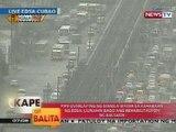 KB: Pipe overlaying ng Manila Water sa EDSA, uunahin bago ang rehabilitasyon ng kalsada