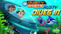 Nick Jr | Rusty Rivets Rusty Dives In | Rusty Rivets Games | Dip Games for Kids (New Game!