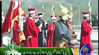 Turkish Military Band Mehtar Amazing Performance on Pakistan day 23 march 2017