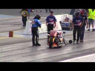 DRAG FILES: 2015 IHRA Spokane Nitro Jam Part 10 (Nitro Harley Round 1 Highlights)