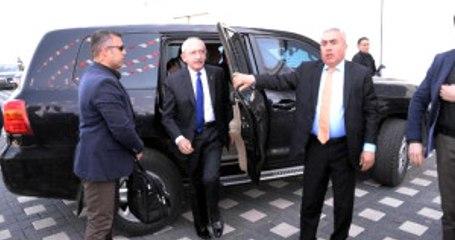 Diyarbakır CHP Genel Başkanı Kılıçdaroğlu'na Diyarbakır'da Zırhlı Makam Aracı