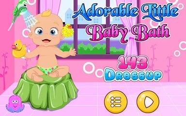 Обожаемый мало Детка ванна время Игры для Дети