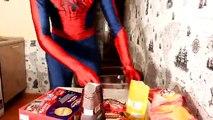 Fat Spiderman Prank Movie Frozen Elsa Hulk Superhero in Real Life Movies FUNNY COMIC