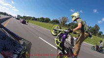 Motorcycle CRASHES Wheelie FAIL Street Bike ACCIDENT Moto CRASH Wheelies GONE WRONG ROC 2016