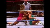 WWE Hall of Fame  Wendi Richter defeats Fabulous Moolah to