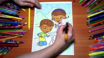 Doc McStuffins New Coloring Pages for Kids Colors Coloring ...
