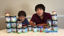 ICE CREAM CHALLENGE!! BEN & JERRYS 20 FLAVORS Guess The Flavor Taste Test Funny Princess