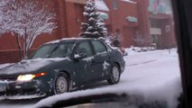 ITS STILL SNOWING ! VIDEO UPDATE Minnesotas Twin Cities received 10.2 inches of snow tod