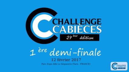 Challenge Cabièces 2017 - Demi-finale US Torcy/Toulouse AC