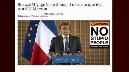 Macron candidat avéré des médias