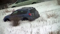 Snow Storm Brings Extreme Cold To U.S. Car Crash Cars in Ditch Blizzard Brutal Cold Minnes