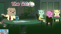 Le chien arrogant - spectacle drôle de comédie de dessin animé de Cutians pour des enfants