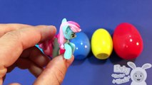 Surprise Eggs Learn Sizes from Smallest to Biggest! Opening Eggs with Toys Lesson 1