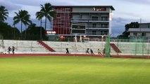 4x100 M cadet ASPTT Nouméa athlétisme
