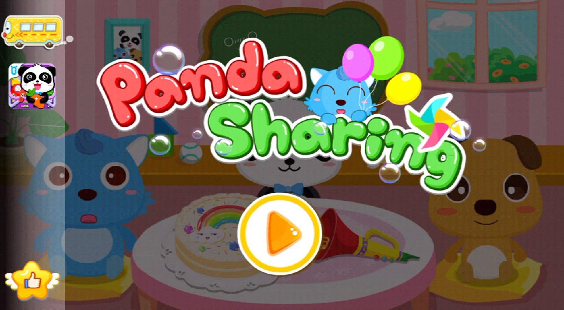 Panda Sharing Adventure - BabyBus Kids Games Android Educational Education Games Gameplay