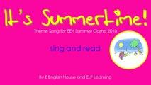 KARAOKE Summer Song - It's Summertime - ELF Learning-jixKfbwmCCk