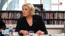 Marine Le Pen face aux électeurs : ses 10 mesures choc contre le terrorisme