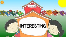 School Subjects Vocabulary - Pattern Practice for ESL and EFL Students - ELF Kids Videos-J0Ji