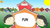 School Subjects Vocabulary - Pattern Practice for ESL and EFL Students - ELF Kids Videos-J0Ji8hXcD