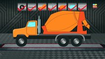 Cement Mixture Truck | Formation & Uses | Video For kids