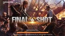 Final Shot jogo de tiro/fps 2016 para Android, tiro tiro tiro delícia :)