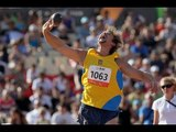 Athletics - men's shot put F38 Final - 2013 IPC Athletics World Championships, Lyon