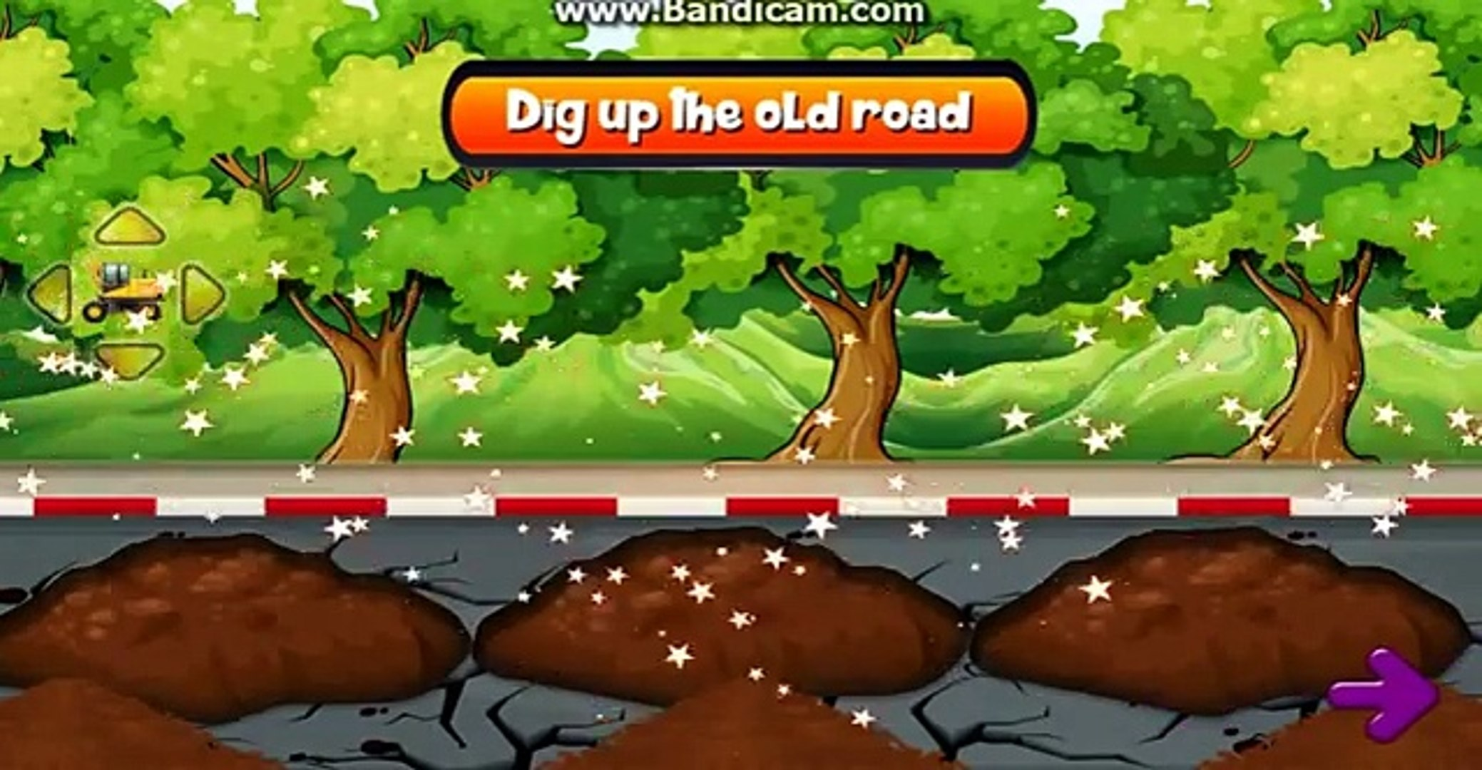 Kids Road Construction Game
