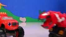 DINOTRUX Toys Ty RUX (Dinosaurs & Trucks) Gets Help from BLAZE AND THE MONSTER MACHINES Toypals.tv-zeDzI