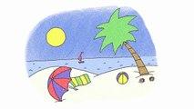 KARAOKE Summer Song - It's Summertime - ELF Learning-jixK