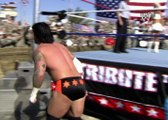 Jeff Hardy, CM Punk & R-Truth vs. JBL, The Miz & John Morrison