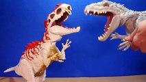 Jurassic World INDOMINUS REX Toy Dinosaurs Hybrid Rampage & Armor I-REX Dinosaur Toys Review-D8