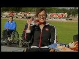 Athletics -  women's shot put F52/53 Medal Ceremony  - 2013 IPC Athletics World Championships, Lyon