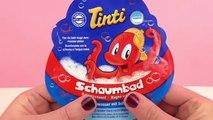 Video 叮叮 沐浴产品 Tinti Iglu 泡泡浴 爆炸球 玫瑰香 粉红梦幻 儿童浴缸泡澡 展示