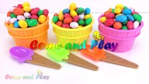 Giant M&M Ice Cream Surprise Toys Chupa Chups Chocolate Kinder Surprise Paw Patrol Learn Colors Kids-4-3TS