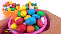 Giant M&M Ice Cream Surprise Toys Chupa Chups Chocolate Kinder Surprise Paw Patrol Learn Colors Kids-4-3