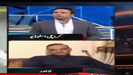 Fight Between Aamir Sohail & Basit Ali