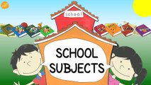 School Subjects Vocabulary - Pattern Practice for ESL and EFL Students - ELF Kids Videos-J0Ji8hX