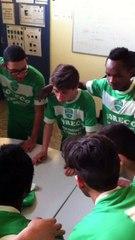 U15 A contre Quetigny | Chant de la victoire 5-0