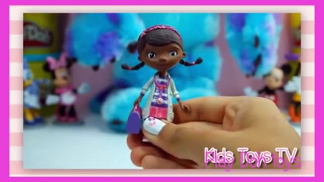 DOC MCSTUFFINS Disney Doc McStuffins Eye Doctor Toys Video Unboxing