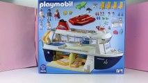 Montage du bateau de croisière PLAYMOBIL Family Fun! Gigantesque bateau avec piscine& Res
